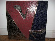 mozaiek schilderij schoenen / mosaic painting shoes by Linda van Deursen Euro 250.00