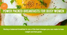 Power Packed Breakfasts For Busy Women - Propel Wellness | Maranda Carvell RHN