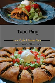 A Low Carb, Keto, THM Taco Roll that is prefect for any party or appetizer.