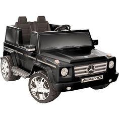 Kid Motorz 12V Mercedes Benz G55 AMG Ride-on