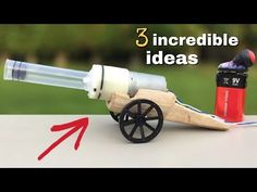 3 brilliant ideas and incredible homemade inventions that you must see … - My CMS Diy Crafts For Kids, Projects For Kids, Stem Projects, Life Hacks Youtube, Wooden Plane, Robots For Kids, Diy Tank, Art Supply Stores, Science Activities For Kids