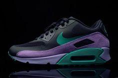 9a992ea2ca Nike Air Max 90 Premium – Stadium Green – Medium Violet Nike Shoes Outlet