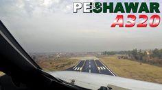 Airbus PILOTSVIEW on takeoff from Peshawar PAKISTAN