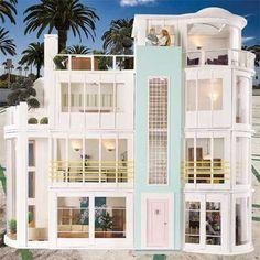 Modern dolls' houses/Doll House Emporium United States site!