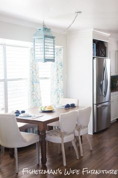 A cheap and fairly easy way to add an expensive look to your kitchen is to frame out your fridge.  Create a built in if there isn't one.  Custom homes have a space for every appliance.  Every…