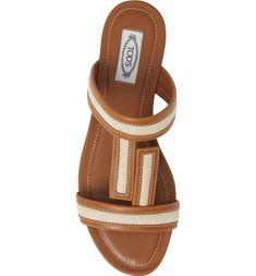 887a13a0799a Tod s Double T Slide Sandal (Women)