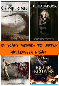 Do you love watching a scary film on Halloween? These are my Top 10 picks for the scariest!