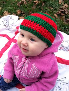 Check out this item in my Etsy shop https://www.etsy.com/listing/211213253/baby-or-toddler-sized-crochet-red-and
