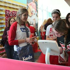 So, who's visited us at the #REDTour? You can win some fun prizes at the Keds Zone!