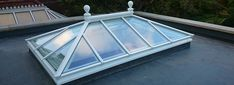 Traditional roof lanterns from beautiful refined pyramid roof lanterns to stunning rectangular shaped roof lanterns. Orangery Extension Kitchen, 3 Season Porch, Traditional Lanterns, Side Extension, Roof Lantern, Through The Roof, Container Architecture, Glass House, Skylight