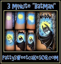 batman tutorial....www.sillyfarm.com