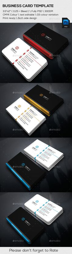 Simply Corporate Business Card Cards Name Typo Visit