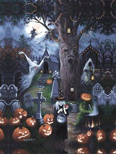 Halloween Night Jigsaw Puzzle | Halloween | Vermont Christmas Co. VT Holiday…