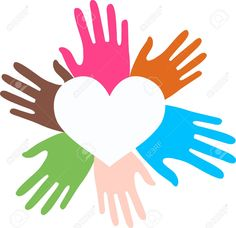 Mixed Ethnic Hands Love Royalty Free Cliparts, Vectors, And Stock Illustration. Pic 14574656.