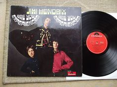 The JIMI HENDRIX Experience 1 LP Are You Experienced 1967 Polydor 184085