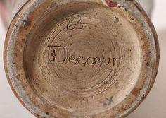 Émile Decoeur Art Deco Stoneware Vase image 10