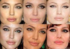 angelina jolie makeup tutorial - Hľadať Googlom