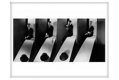 Charlie Chaplin by Edward Steichen. #Photography #Charlie_Chaplin #Edward_Steichen
