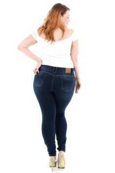 High waist : Front rise: Back rise: , Inseam: ( increase in each size). First Model size: Hot Delicious size. Second Model size: Salsa Size. Jeans Brands, Push Up, Skinny Jeans, Spandex, Hot, Model, Cotton, Pants, Life