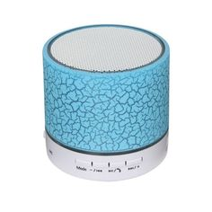 Consumer Electronics Speakers Discreet Bluetooth Speaker Wireless Multi-color Rotating Crystal Ball Stage Led Light Usb Tf Card Auv Fm Radio Mp3 Music Player