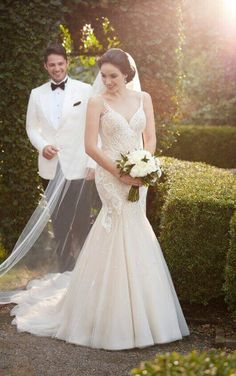 Martina Liana Wedding Dresses - Search our photo gallery for pictures of wedding dresses by Martina Liana. Find the perfect dress with recent Martina Liana photos. 2017 Bridal, Bridal Gowns, Wedding Gowns, Wedding Hair, Lace Wedding, Wedding Dress With Pockets, Perfect Wedding Dress, Dream Wedding, Wedding Things