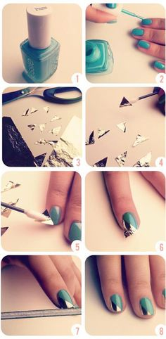 Nails...have to try this!
