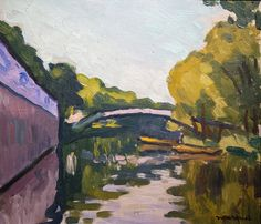 Auguste Herbin, Rio Sena, Maurice Utrillo, Texture Water, Over The River, Inspirational Artwork, Paul Cezanne, His Travel, Art Pictures