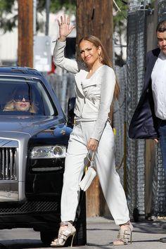 Fabulously Spotted: Jennifer Lopez Wearing Rachel Zoe - Jimmy Kimmel Live  - http://www.becauseiamfabulous.com/2014/04/jennifer-lopez-wearing-rachel-zoe-jimmy-kimmel-live/