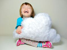 Etsy find of the day - fluffy cloud cushion