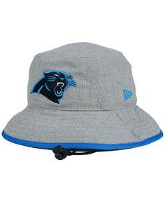 New Era Carolina Panthers Nfl Heather Gray Bucket Hat Hat Men 1d95d19d0