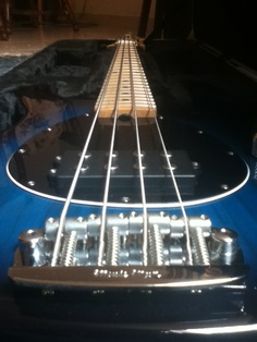 Musicman Sterling bass.