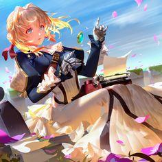 Manga Anime, Anime Demon, Kawaii Anime Girl, Anime Art Girl, Violet Evergreen, Violet Evergarden Anime, The Ancient Magus Bride, Beautiful Anime Girl, Anime Artwork