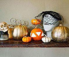 Sequin Glam Gourds Craft
