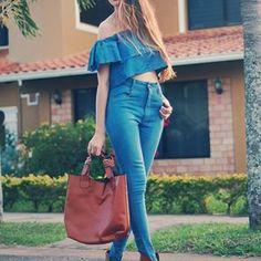Total Denim Look  #Denim #Look #Style