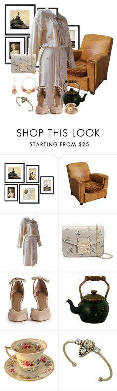 """Old House"" by tilarids ❤ liked on Polyvore featuring Crystal Art, Chanel, Furla, Rebecca Minkoff and vintage"