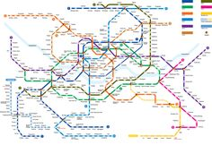 English Seoul Subway map