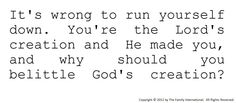 You're The Lord's Creation