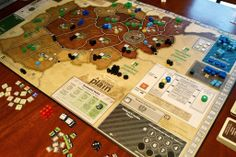 A Distant Plain | Image | BoardGameGeek