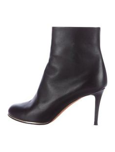 #The RealReal - #Givenchy Givenchy Leather Ankle Boots - AdoreWe.com