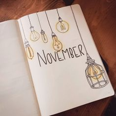 Lightbulb Bullet Journal Theme augustbulletjournal Lightbulb Bullet Journal The. - Bullet Journal - Lightbulb Bullet Journal Theme Lightbulb Bullet Journal The… Lightbulb Bullet Journal Theme Lightbulb Bullet Journal Theme Bullet Journal Cover Ideas, Bullet Journal Notebook, Bullet Journal Aesthetic, Bullet Journal School, Bullet Journal Spread, Journal Covers, Bullet Journal Inspiration, Art Journal Pages, Journal Prompts