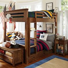 Get inspired with teen bedroom decorating ideas & decor from Pottery Barn Teen. From videos to exclusive collections, accessorize your dorm room in your unique style. Boys Bedding Sets, Teen Girl Bedding, Girls Bedroom, Boy Bedrooms, Sibling Bedroom, Surf Bedroom, Dorm Bedding, Boys Bedroom Furniture, Teen Furniture