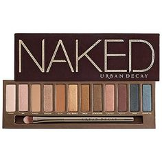 Adored by makeup artists and product junkies alike, this palette contains a dozen ultra-wearable eye shadows so you'll never have one shade used up while the others collect dust. The bestseller spawned an entire collection, with last year's Naked 3 palette selling out everywhere (one flew off shelves every second the week of launch).   Urban Decay Naked Palette ($54)