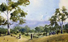 Watercolor paintings – studio organization | Painting With Watercolors Joe Cartwright