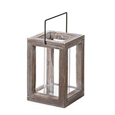 Weathered wood lantern with floral & succulent accents for centerpiece A Outdoor Candle Lanterns, Hurricane Lanterns, Wooden Lanterns, Moroccan Lanterns, Table Lanterns, Wooden Candle Holders, Lantern Candle Holders, Into The Woods, Weathered Wood