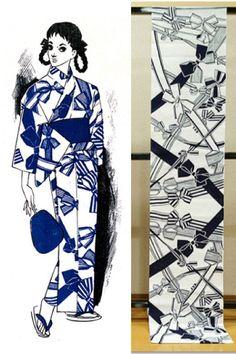 それいゆ浴衣 リボン Japanese Outfits, Ribbon Bows, Kimono, Clothes, Beautiful, Outfits, Clothing, Kleding, Japan Fashion