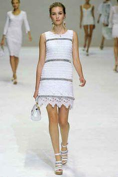 Crochet vestido