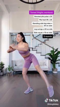 Body Weight Leg Workout, Full Body Gym Workout, Gym Workout Videos, Gym Workout For Beginners, Fitness Workout For Women, Sport Fitness, Butt Workout, Workout Routines, Skinny Leg Workouts