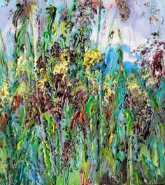 "Saatchi Online Artist: Art Trouve Inc; Oil, 2012, Painting ""Sorghum fields"""