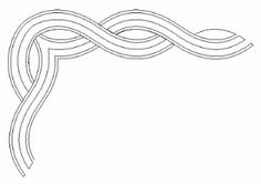 Digitized Borders -- Almond Cable via Anita Shakelford Longarm Quilting, Hand Quilting, Machine Quilting, Machine Embroidery, Quilt Border, Motifs, Quilting Designs, Free Design, Quilt Patterns