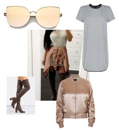 """""""Affordable Instagram looks"""" by molly-elliott-i on Polyvore featuring New Look, Topshop and ZeroUV"""